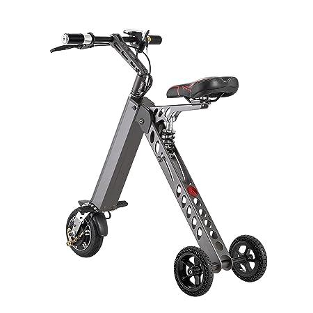 ToMate Minivehículo Eléctrico, Scooter y Triciclos Eléctricos y Inteligentes, y Bicicleta Eléctrica Plegable y Portátil (verde): Amazon.es: Deportes y aire ...