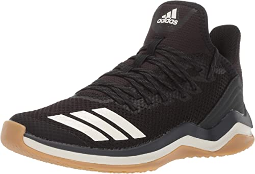 Mens ADIDAS ICON TRAINER Black Running Shoes Turf Sneakers NEW