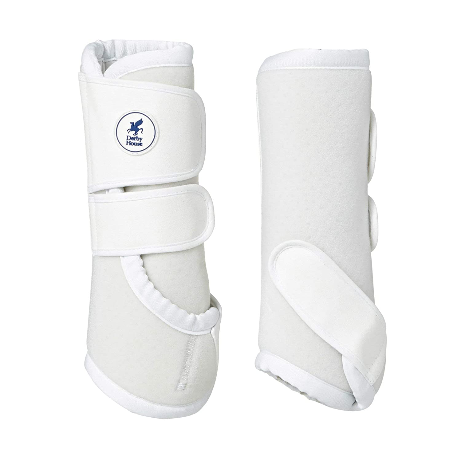 Derby House Pro Sport Exercise Boots Full Size White