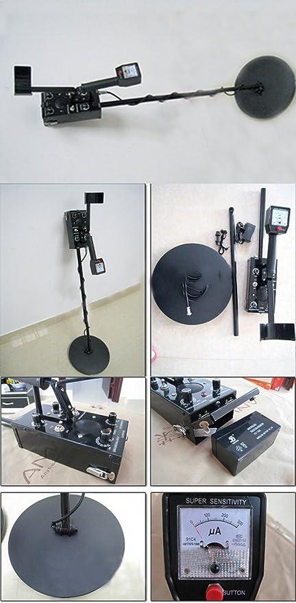 Subterráneo Detector de Metales Monedas Oro Reliquias Tesoro Detector: Amazon.es: Bricolaje y herramientas
