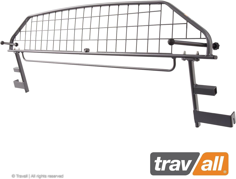 Travall Guard Grilles Pare-Chein pour Voiture TDG1537 Grille de s/éparation avec rev/êtement en Poudre de Nylon