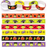 Baker Ross Catene di Carta a Tema Halloween (Confezione da 240) per creazioni Fai da Te e Decorazioni di Halloween per Bambini