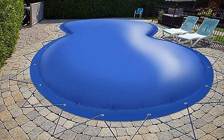 (calidad profesional) Cubierta de piscina hinchable de octava cubierta de piscina de lona para camiones, 680 g/m² (1360 g/m²) (5,25 m x 3,20 m, beige RAL1014)