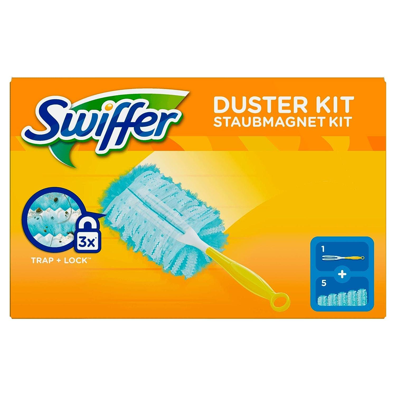 Swiffer Kit Duster con plumeros manija 5 de plumas