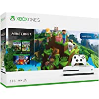 Consola Xbox One S, 1 TB + Paquete Minecraft - Bundle Edition