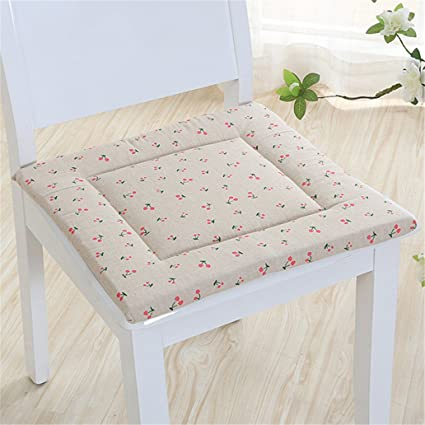 Cojín de lino para asiento de casa, cómodo, cojín para silla ...