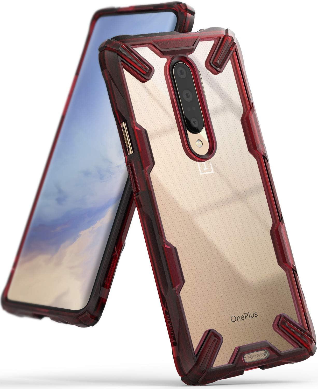 Transparent R/ückseite Renovierter TPU Rahmen Bumper Sto/ßf/änger Doppelter Schutz Case f/ür OnePlus 7T 2019 Ringke Fusion-X Gestaltet f/ür OnePlus 7T H/ülle - Schwarz