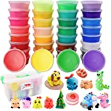 WXBOOM 36 Colors Air Dry Clay Kit DIY Modeling Magic Clay Ultra Light Plasticine Clay for Kids, Teens, Creative Art DIY…