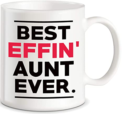 Amazoncom Aunt Gifts For Mothers Day Best Effin Aunt Ever