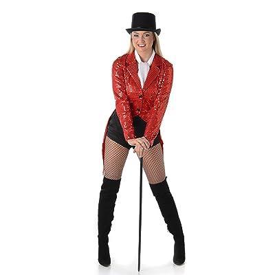 Générique Déguisement cabaret rouge femme Taille M