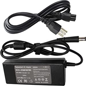 Angwel 19.0V 4.74A 90W HP Replacement AC Adapter PPP012L-E PA-1900-32HT 608428-001 609940-001 for HP Pavilion 14 Notebook Series - 1 Year Warranty