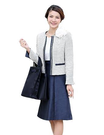 ニナーズ)nina's 入学式 スーツ 母 ママ セレモニー スーツ レディース 女性用 母親 入園