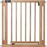 Safety 1st 24040100 - Barrera de puerta de seguridad Easy Close, a presión, color madera natural