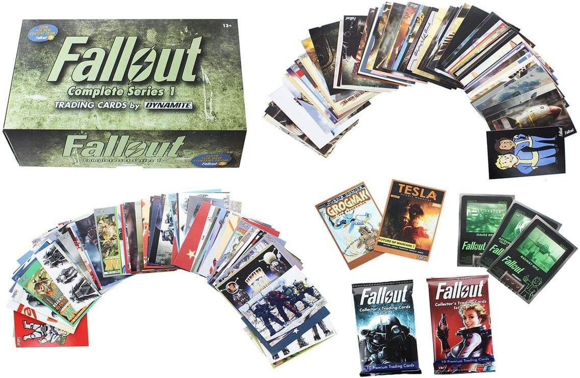 Dynamite Entertainment Fallout Trading Cards Series 1 - Complete Base Set w/ Bonus Cards & Packs: Amazon.es: Juguetes y juegos