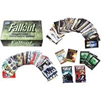 Fallout Trading Cards Series 1 Complete Base Set with Bonus Cards and Packs