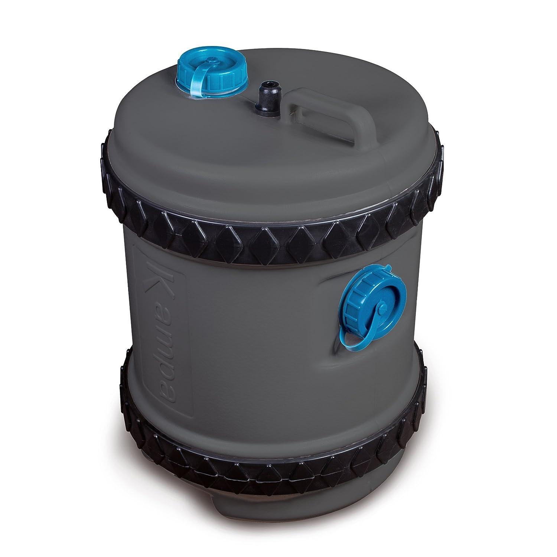 Robuster Wassertank ideal beim Campen 40 Liter mit praktischem, abnehmbarem Griff • Mobiler Tank Wohnwagen Wohnmobil Rolltank Camping 40L