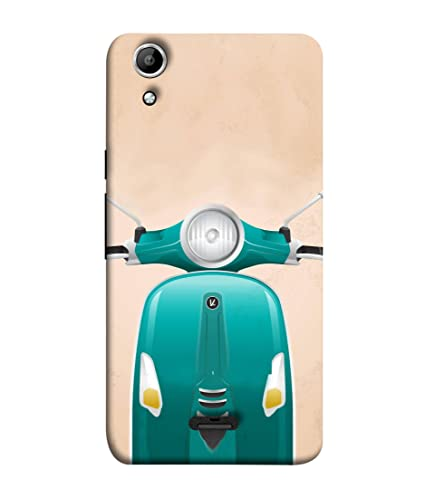 outlet store dd380 79d47 Micromax Canvas Selfie Lens Q345 Back Cover Scooter: Amazon.in ...