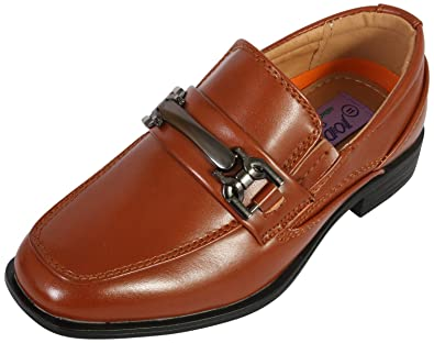 Jodano Collection Boys Comfort Slip On Loafers 07d913cb7e7