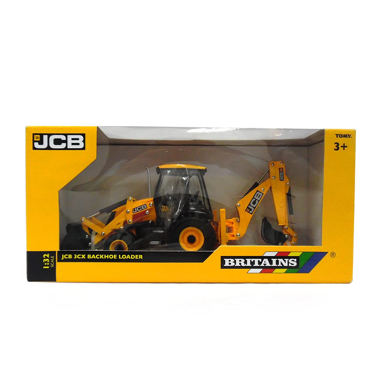 Buy Tomy Britains 1:32 JCB 3CX Backhoe Loader Online at Low Prices in India  - Amazon.in