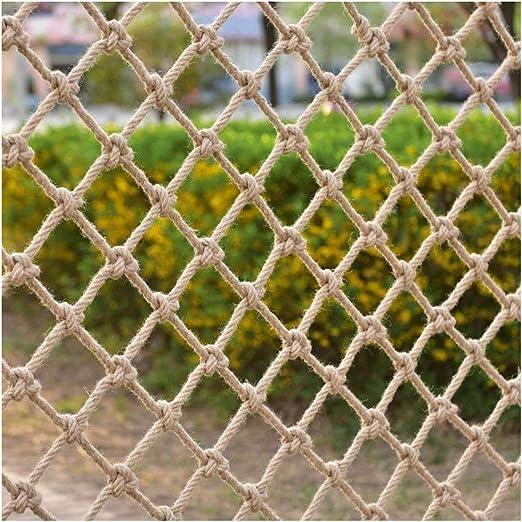 Red de Seguridad para Balcones y Ventanas, Red De Seguridad Infantil Cuerda De Cáñamo Escalera Balcón