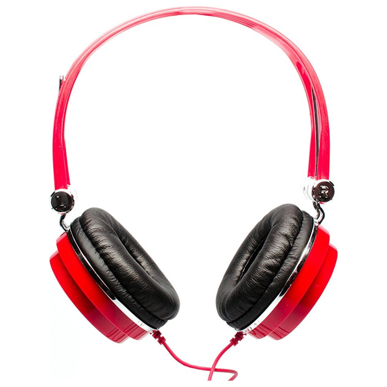 CAD Audio MH100R Closed-Back Mid-Size Studio Headphones, Red