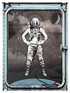 David Bowie space oddity 18x24 print | Major Tom NASA vintage science steampunk decor | Deep sea scuba diver helmet steam punk outerspace baby astronaut art |Ready to frame sci fi poster