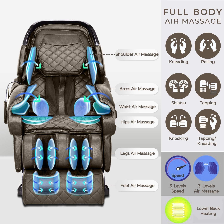 Amazon.com: Silla de masaje reclinable, cápsula espacial ...