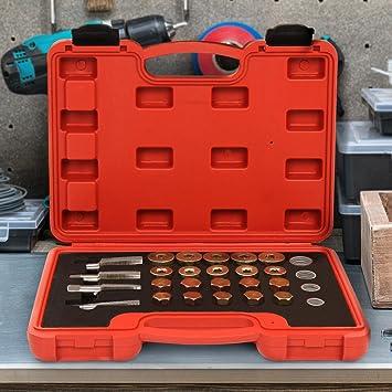 NAP-OL Reparaturset Ölablassschraube Ölwanne Gewindereparatur Werkzeuge 64tlg