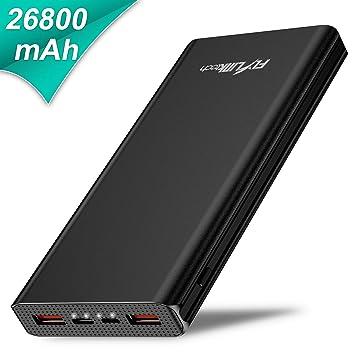 FLYLINKTECH Power Bank 26800 mAh USB-C PD Cargador portátil ...