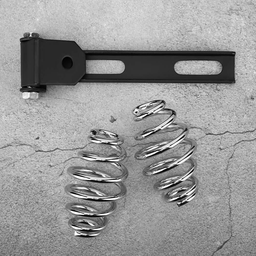 support de ressorts de selle de si/ège de moto en acier inoxydable adapt/é pour Bobber Aramox Support de si/ège de moto