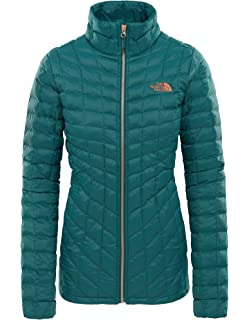 3db48e97a THE NORTH FACE Girls' Thermoball Jacket, Black, Small: Amazon.co.uk ...