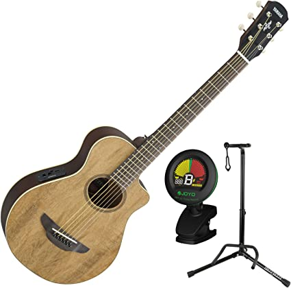 Yamaha apxt2ew na 3/4 Escala Mini Thinline Natural acústica ...