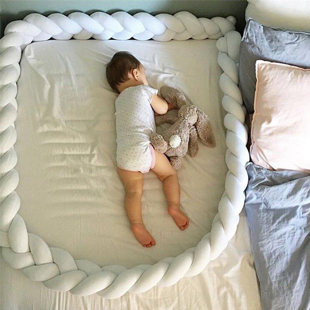 Kuuboo Soft Baby Bed Crib Cot Bumper Pads Bedding Set Lovely Hemp flowers big hugging pillow soft Crystal velvet toy Cushion Pillow Sleeping Toys Crystal velvet Toy Gift