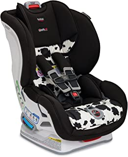 product image for Britax Marathon ClickTight Convertible Car Seat | 1 Layer Impact Protection - Rear & Forward Facing - 5 to 65 Pounds, Cowmooflage