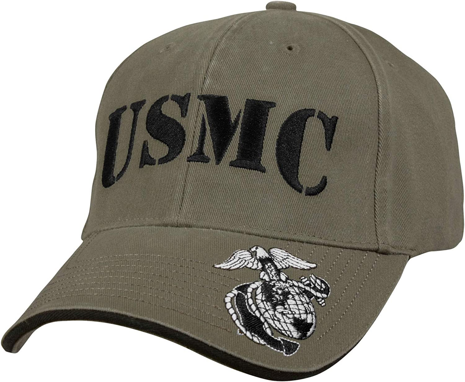 Rothco Deluxe Vintage USMC Embroidered Low Pro Cap: Clothing