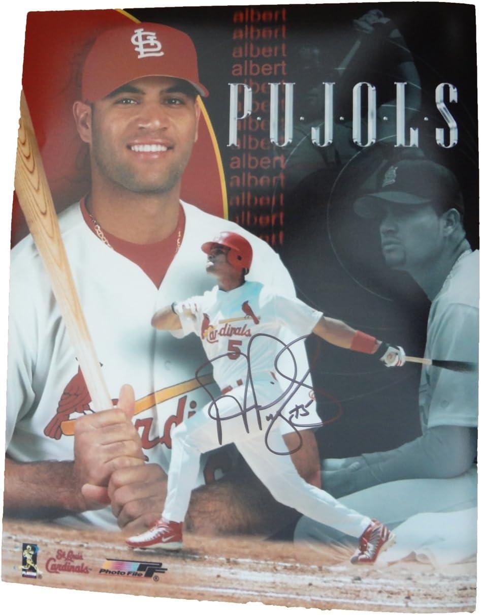 B0095LSTR6 Albert Pujols Autographed St. Louis Cardinals 11x14 Photo, St. Louis Cardinals, World Series Champion, NL MVP, Los Angeles Angels Of Anaheim, All Star, Anaheim Angels 71simSa2BRwL.SL1231_