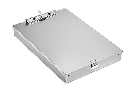 Amazon.com: AdirOffice - Portapapeles de aluminio con forma ...