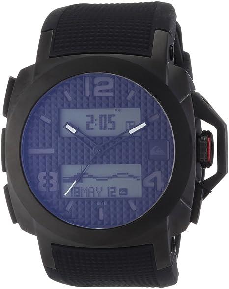 Quiksilver Molokai M148TR-AGUN - Reloj analógico - Digital de Cuarzo para Hombre, Correa de plástico Color Negro: Amazon.es: Relojes