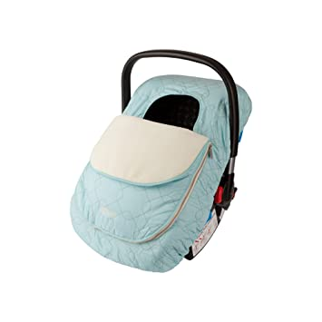 Cozy Cover  Infant Car Seat Cover Quilt to Keep Baby Worm and Pink