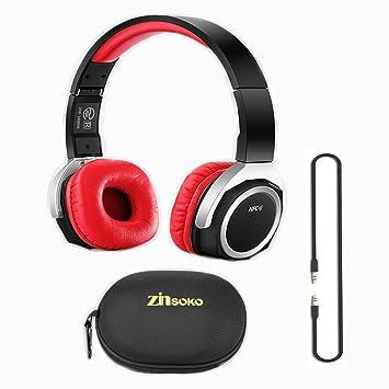 zinsoko NB-6 Bluetooth NFC deporte actividad auriculares plegable ...