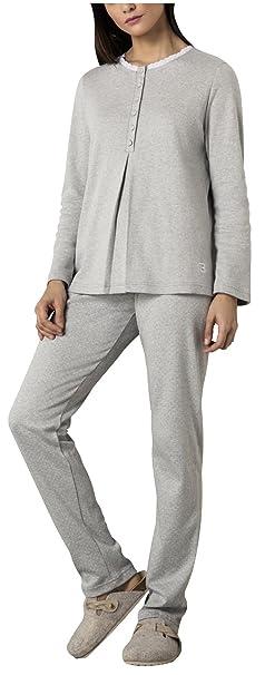 Belty Pijama mujer invierno interlock con carda