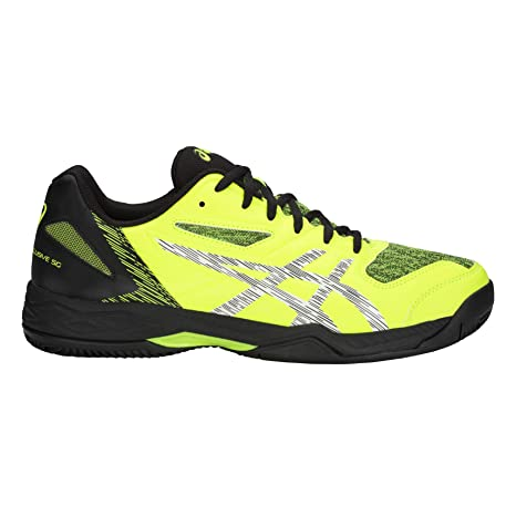 ASICS Gel Padel Exclusive 5 SG Amarillo Negro 1041A005 750: Amazon ...