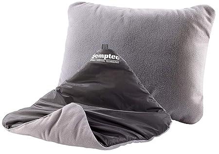 Semptec reversible-almohada hinchable, 37 x 28 cm