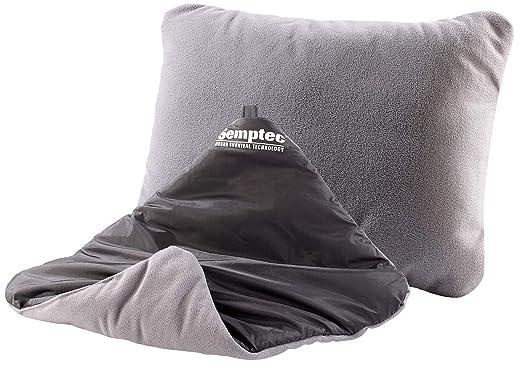 Semptec reversible-almohada hinchable, 37 x 28 cm: Amazon.es: Hogar