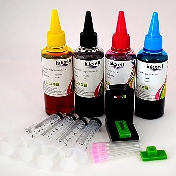 Kit Recarga de Tinta 4x100ml Non oem para Canon Pixma MX475 + ...