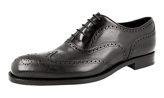 Men's 2EB126 Full Brogue Leather Business Shoes