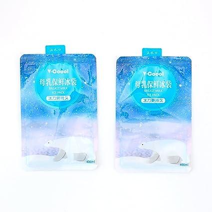 V-Coool Paquete de 10 paquetes de hielo, mantén la leche materna fresca en