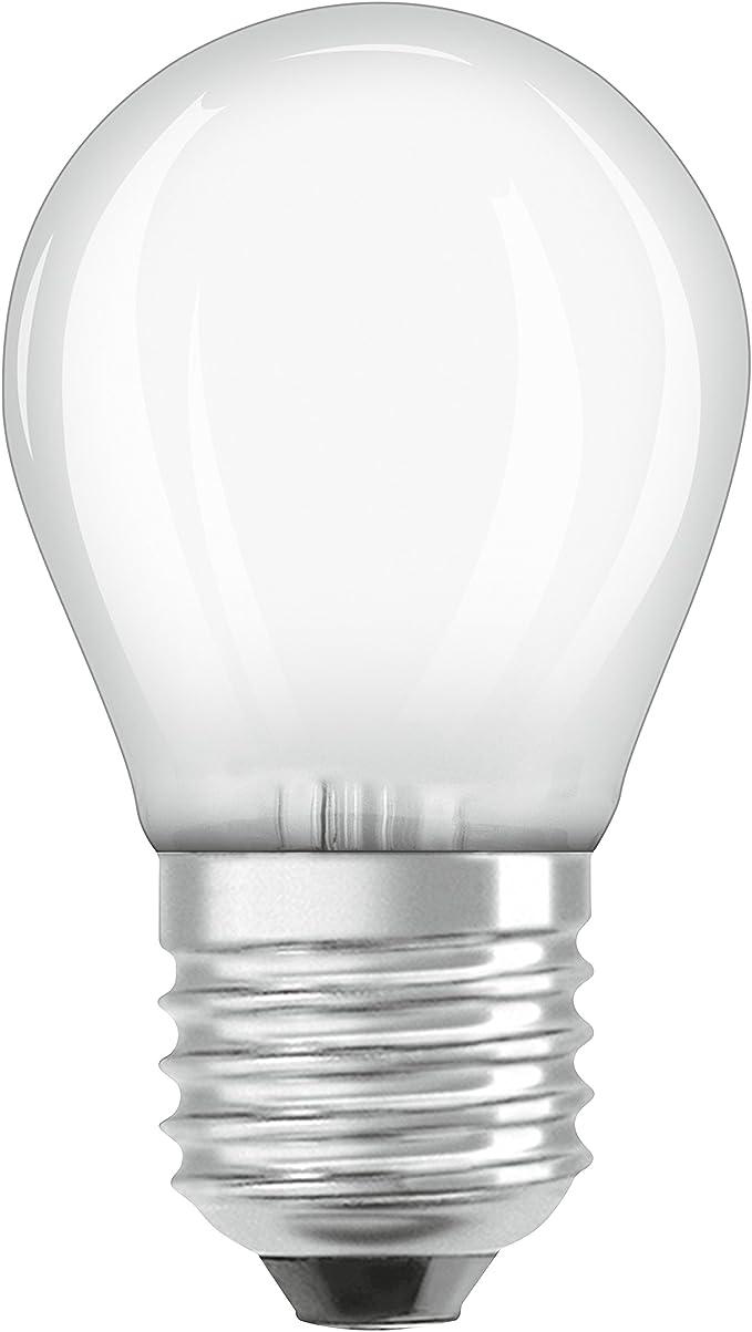 Osram LED STAR P60 E27 LED Lampe Tropfen Matt 6W 2700K 806 Lumen wie 60W