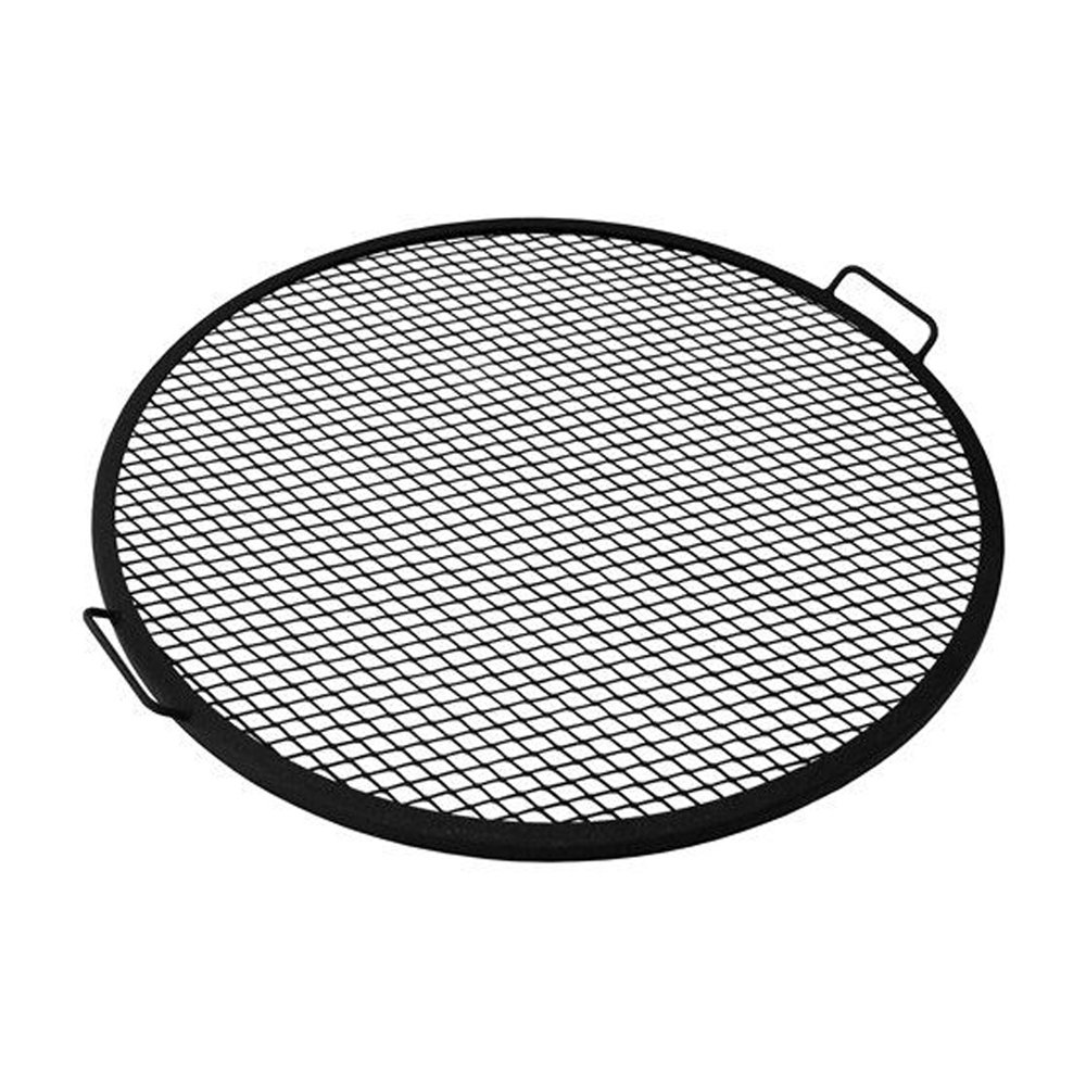 Sunnydaze X-Marks Fire Pit Cooking Grill Grate, Outdoor Round BBQ Campfire Grill, Camping Cookware, 22 Inch Sunnydaze Decor 1506-M22