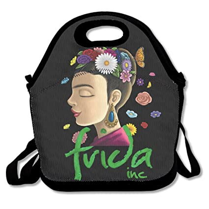 ppap3 personalizada Frida Kahlo – Bolsa para el almuerzo bolsa con correas ajustables